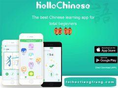 Hello Chinese: Phần mềm học tiếng trung số 1
