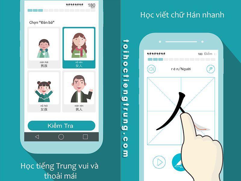 phần mềm học tiếng trung ChineseSkill
