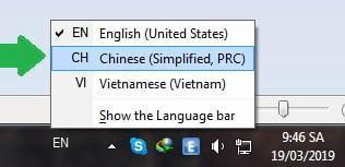 gõ pinyin