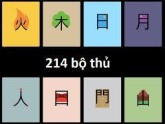 214 bộ thủ tiếng Trung