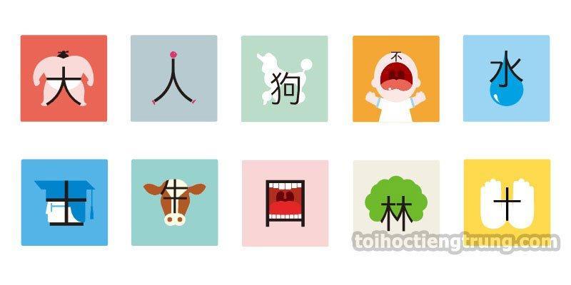 học tiếng Trung tượng hình