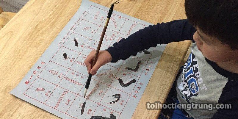 viết chữ Hán