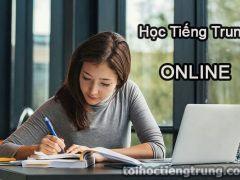 Học tiếng Trung trực tuyến